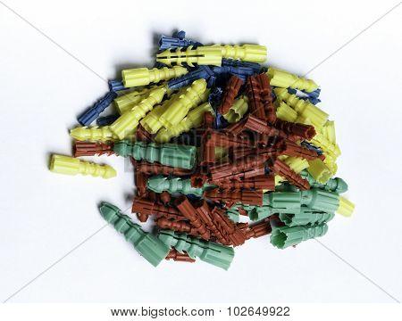 Colored Plastic Dowels