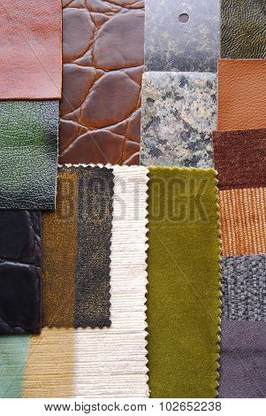 interior color design selection