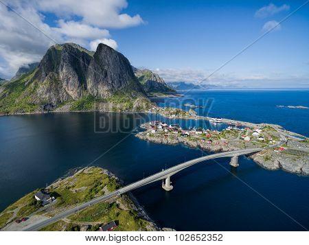 Lofoten Aerial View