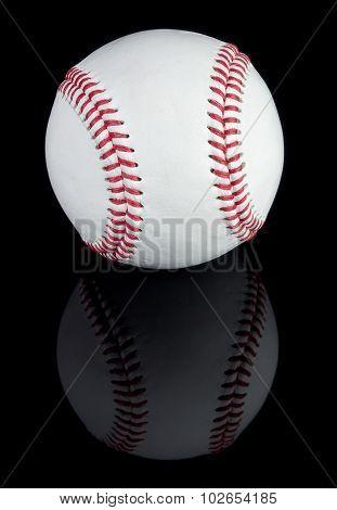 Baseball and reflection