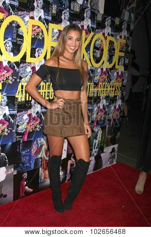 LOS ANGELES - SEP 23:  Katie Austin at the KODE Magazine October 2015 Issue Party at the The Well on September 23, 2015 in Los Angeles, CA