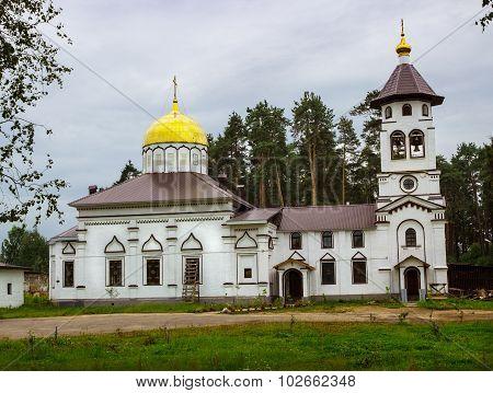 Church Of Alexander Nevsky. Pudozh. Karelia. Russia