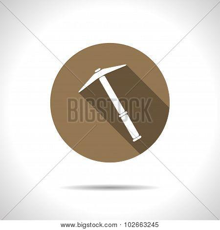 Vetor color flat pick icon