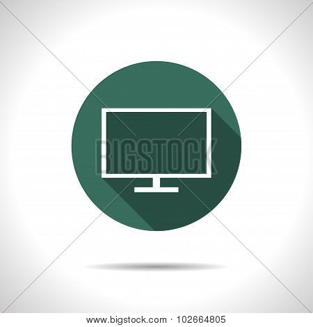 TV or monitor icon