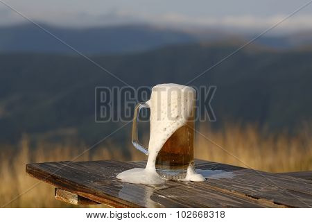 Beer In Mountains
