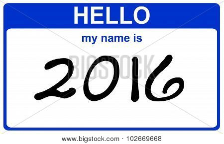 Hello My Name Is 2016