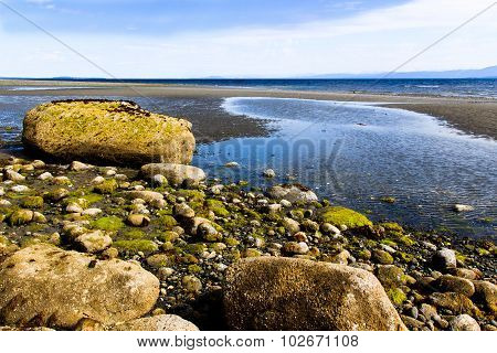 Rocks At Qualicum Beach