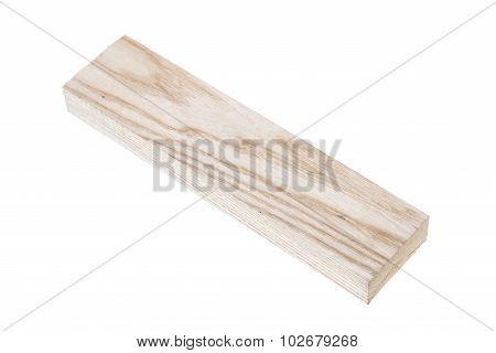 Wood Blocks on White Background