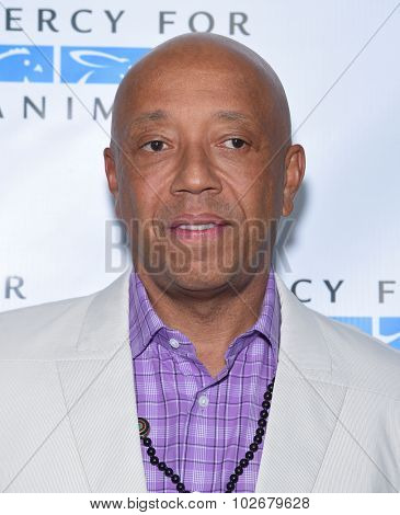 LOS ANGELES - AUG 29:  Russell Simmons Mercy for Animals presents 'Hidden Heroes' Gala  on August 29, 2015 in Hollywood, CA