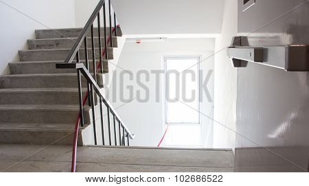 Emergency Exit In Workplace