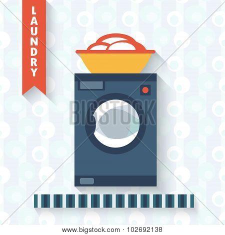 Washing machine .