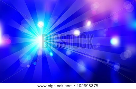 Night Club Violet Abstract Blured Background Celebration Event Light Show