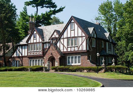 English Tudor Home
