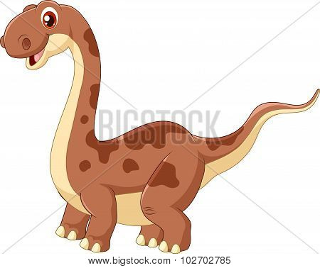Adorable cute dinosaur