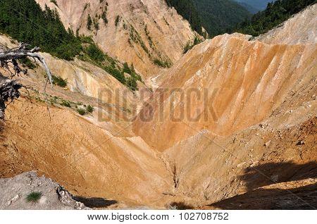 Ravine, Erosion Landscape