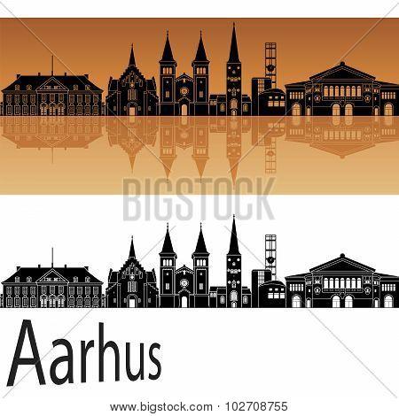 Aarhus Skyline