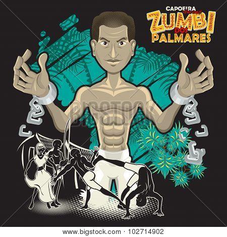 Capoeira Heroes Zumbi Dos Palmares