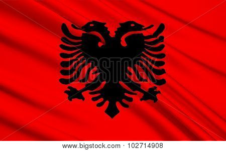 Flag Of Albania - Eastern Europe