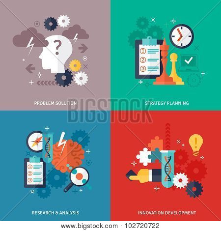 Workflow Icons Set