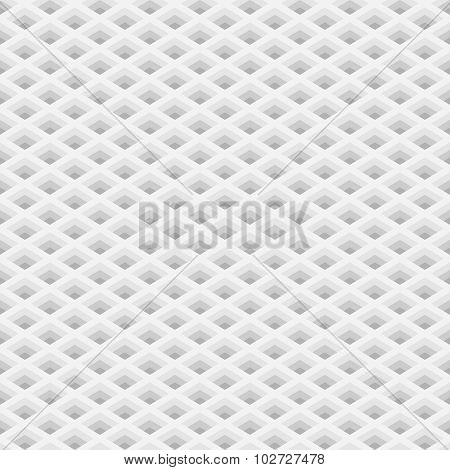 Perspective 3D Grid Seamless Pattern