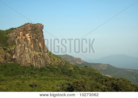 View Of Dame De Mali In Fouta Djalon Mountains In Guinea