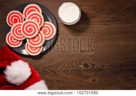 Milk And Christmas Cookies