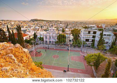 Strefi Hill, Athens.