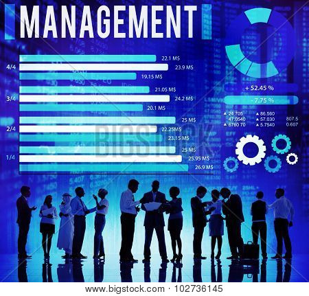 Management Trainer Leadership Director Coach Concept