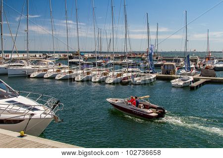 Boats at berth