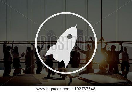 Launch Startup Innovation Improvement Rocket Concept