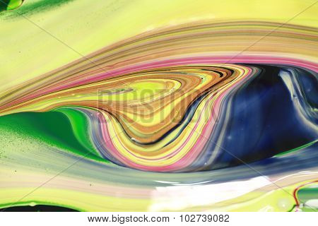 Abstract Paint Colours Background