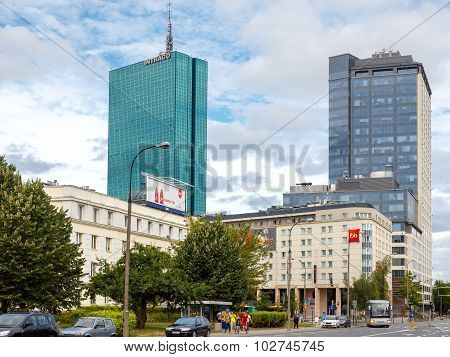 Warsaw. Hotel Ibis.