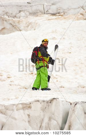 Sportsman In The Mountains
