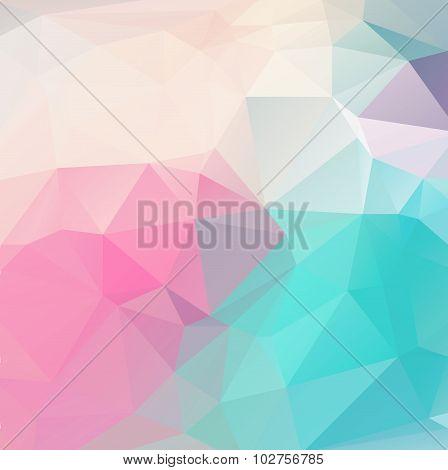 Abstract geometric triangular background