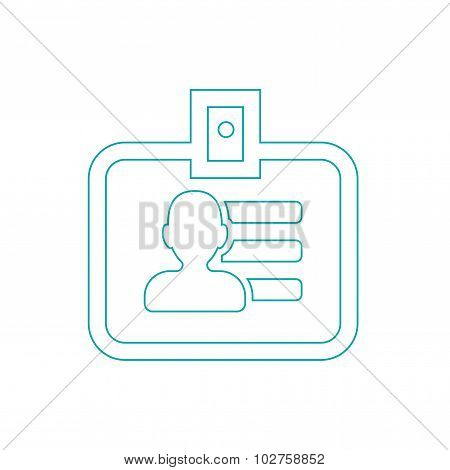 Identification Card Icon - Guest Id Icon