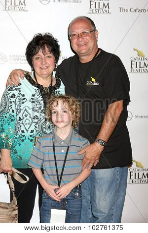 LOS ANGELES - SEP 24:  VIPs, Nico Truppa at the Catalina Film Festival Opening Night Feature -- West of Redemption at the Lancer Auditorium on September 24, 2015 in Avalon, CA