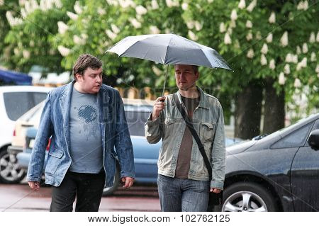 Rain In Kiev