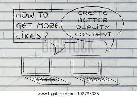 How To Get More Likes? Create Better Quality Content