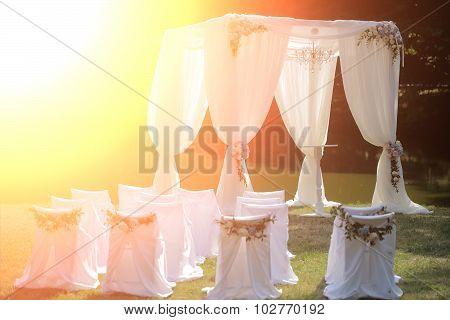 Wedding White Pavilion