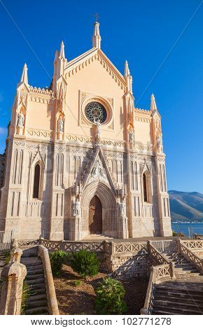 Saint Francesco Cathedral Exterior. Gaeta, Italy