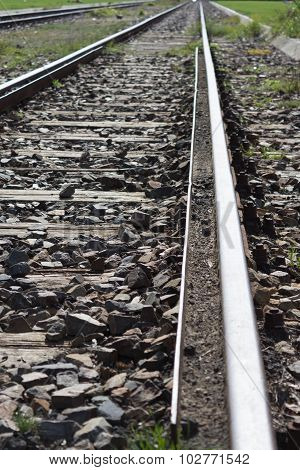 railroad, train tracks - railway