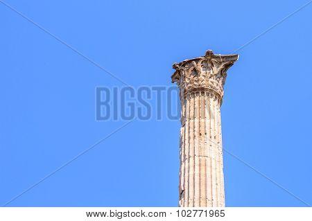 Corinthian Style Column