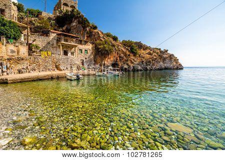 Peloponnese beaches