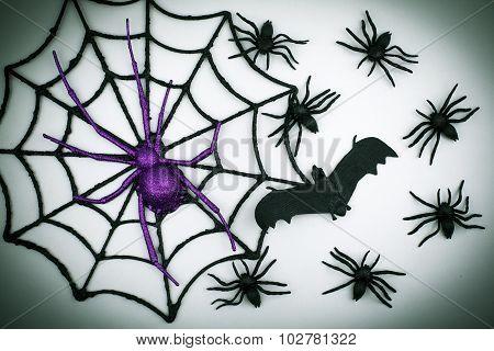 Decorative Scary Halloween Background