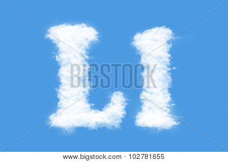 letter of Clouds
