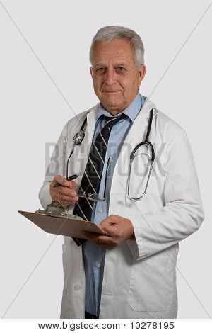 Mature Man Doctor
