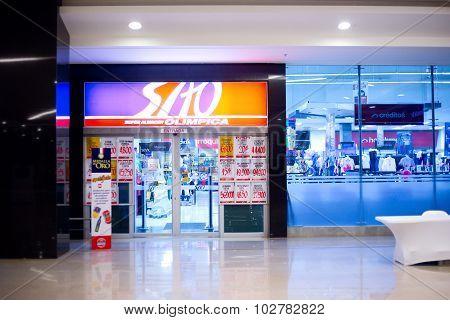 SAO supermarket, colombia