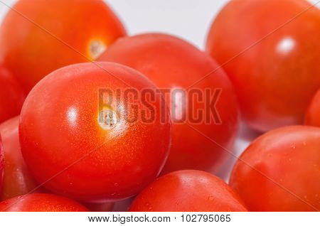 Cherry tomatoes - Closeup View