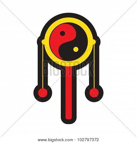 Japanese hand drum