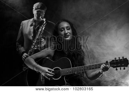 Guitarist and Saxophonist